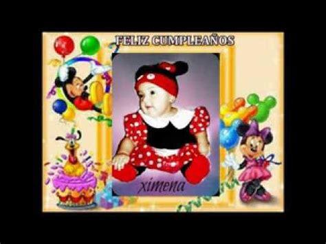 imagenes de feliz cumpleaños fernanda feliz cumplea 209 os 1 a 209 o sobrina peque 209 a princesa ximena
