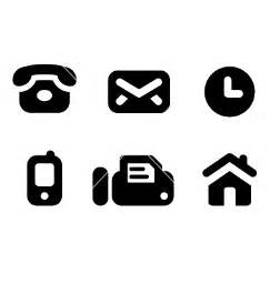 contact info icons resume target