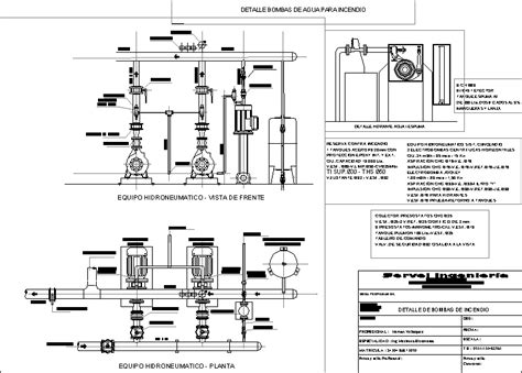 building fire fighting system dwg block autocad