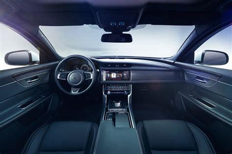 Interior Of Jaguar 2016 Jaguar Xf Look Motor Trend