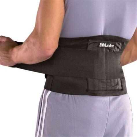 Back Support For by Adjustable Back Brace One Size Lumbar Support Lower Sport