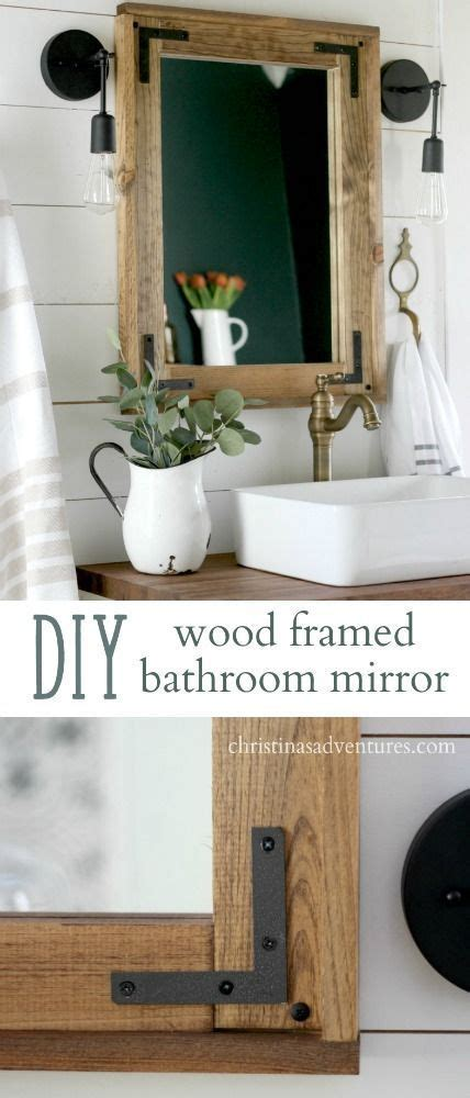 best 25 bathroom mirror redo ideas on