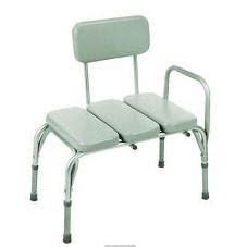 enema bench padded shower transfer bench ht adjustable inv98711 1 each