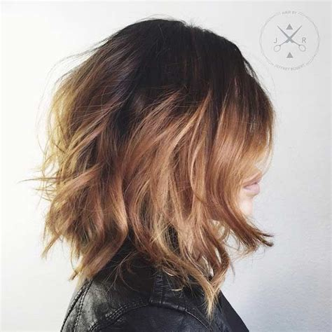 above shoulder choppy haircuts 31 best shoulder length bob hairstyles mid length bobs