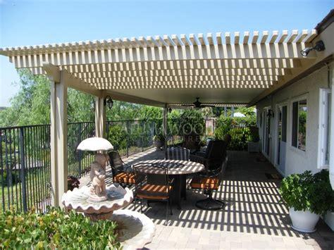 alumawood lattice patio cover thirteen alumawood tm open lattice newport flat pan combo jpg