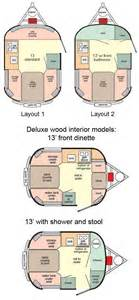 Casita Travel Trailer Floor Plans Scamp 13 Travel Trailer Floorplans Large Picture