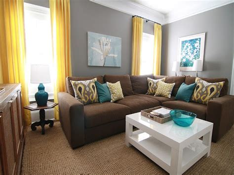 grey and brown living room grey and yellow and brown living room home combo