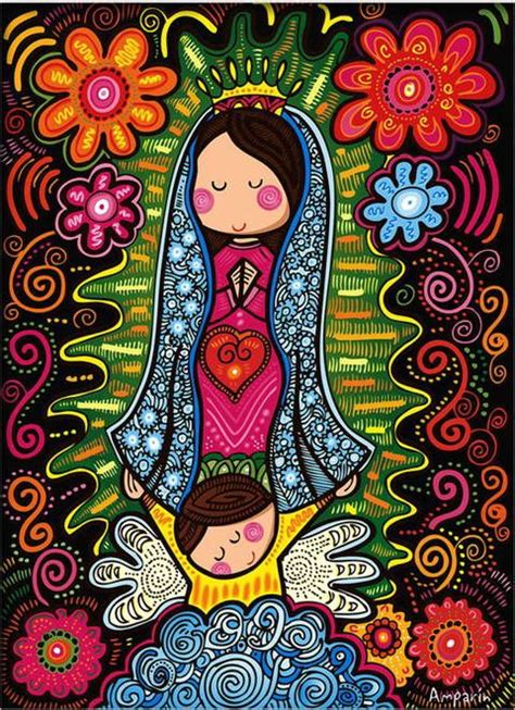 imagenes de la virgen de guadalupe en caricatura para niños pinterest the world s catalog of ideas