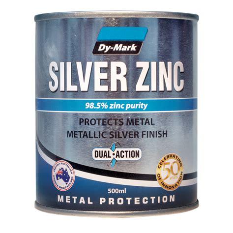 Painting Zinc by Dy 500ml Silver Zinc Metal Paint Bunnings Warehouse