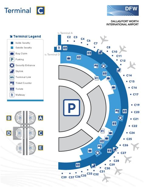 dallas airport map dallas airport map images