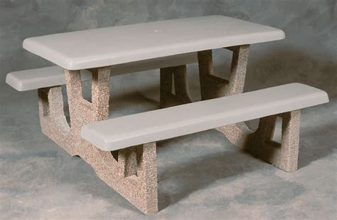 traditional concrete picnic table concrete picnic tables