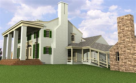 tara gone with the wind house plans tara gone with the wind house plans