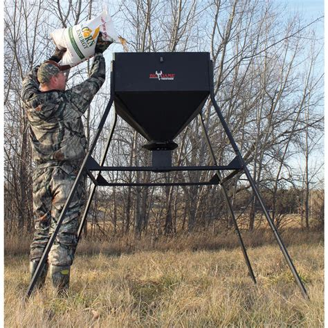 Clearance Deer Feeders Big 174 450 Lb Standing Feeder 193194 Feeders