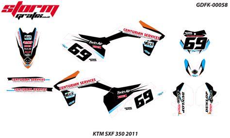 Dekal Stiker Klx 150 D A1 130 ktm motocross mx graphics west midlands wolverhton