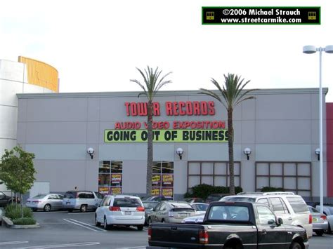 San Mateo Records Tower Records Stores Streetcarmike