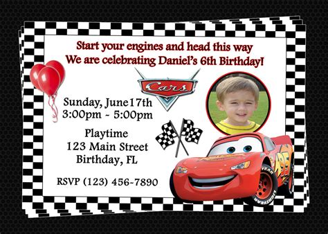 printable birthday invitations cars free printable birthday invitations cars disney birthday