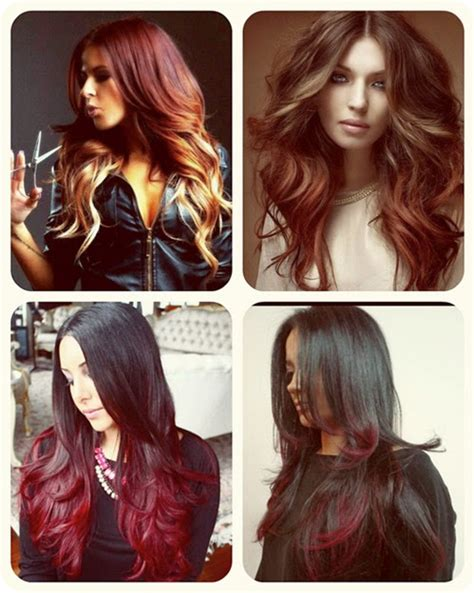 best dark color the best ombre for pale skin dark brown hairs