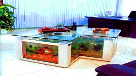 Living Room Table Fish Tank Modern House Fish Tank Living Room Table
