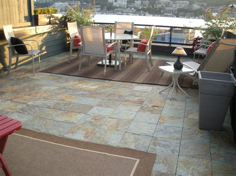 marvelous interlocking deck tiles in patio modern with