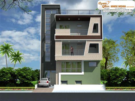 3 floor house design 5 bedroom modern triplex 3 floor house design area 162 sq mts 9m x 18m click on this