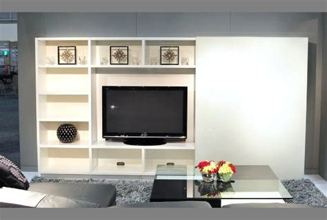 Bookcases With Glass Vedi Modular Tv Entertainment Unit Beyond Furniture