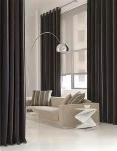 drapes with shades drapery and shade ideas floor to ceiling grommet drapes