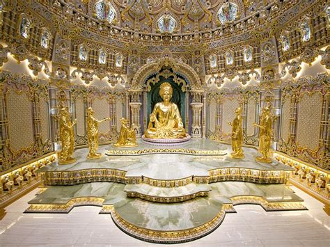 Spiritual Interior Design by Akshardham Delhi Historical Facts And Pictures The
