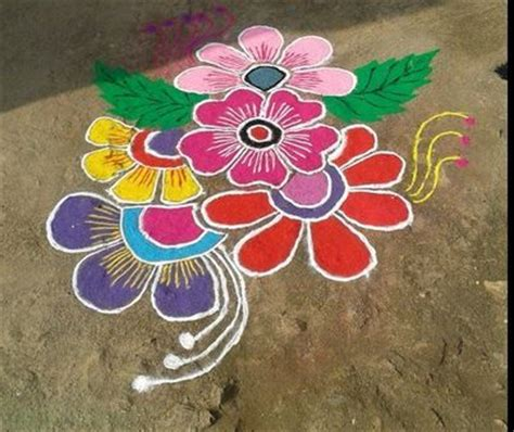 simple and easy rangoli designs for home rangoli kolam