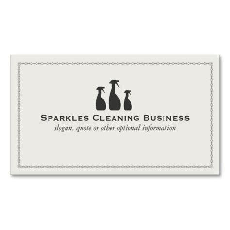 house cleaning business cards templates 196 best images about services business cards on