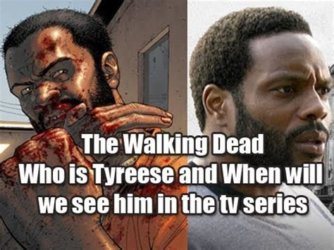 tv couch walking dead the walking dead who is tyreese and when will we see him
