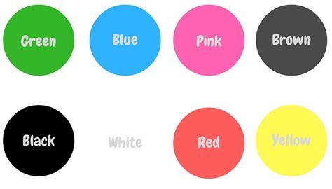 imagenes colores ingles aprender ingl 233 s para los m 225 s peque 241 os este oto 241 o los colores