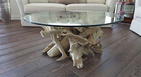 driftwood glass top coffee table beautiful driftwood coffee table driftwood table