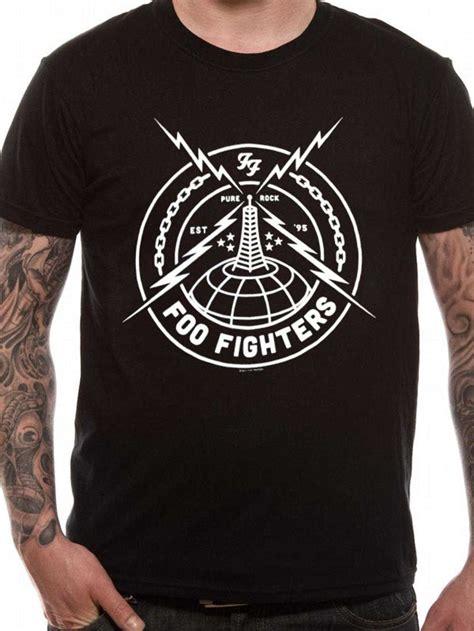 Foo Fighters Tshirt foo fighters black strike t shirt tm shop