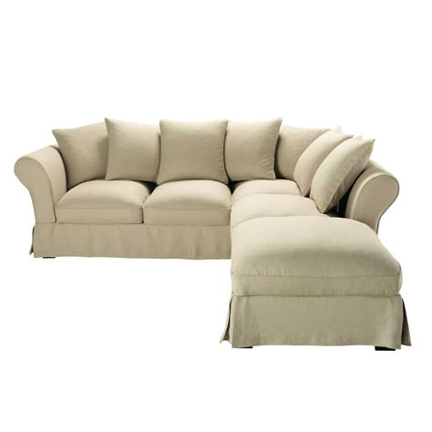 6 Seater Corner Sofa by 6 Seater Linen Corner Sofa In Colour Roma