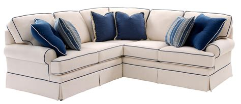 Build Your Own Sectional Sofa Smith Brothers Build Your Own 5000 Series Sectional Sofa With Rolled Arms And Skirt Darvin