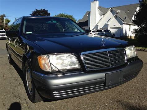 how make cars 1995 mercedes benz s class head up display buy used 1995 mercedes benz s420 super low miles in wayne new jersey united states