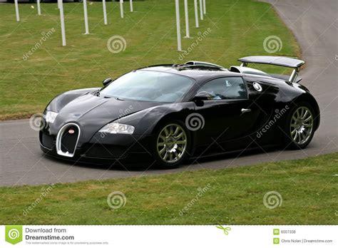 black bugatti veyron editorial stock photo image 6007338