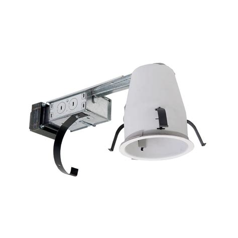 halo recessed lighting housing halo h1499 4 in steel recessed lighting housing for
