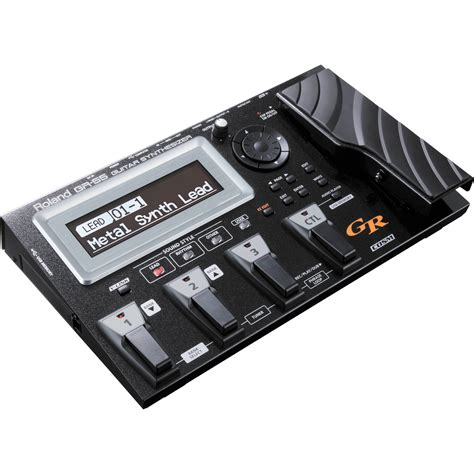 roland gr  guitar synthesizer black gr  bk bh photo