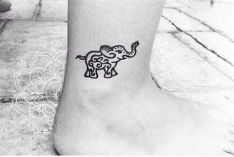 elephant tattoo meaning yahoo small elephant tattoo tattoos pinterest beautiful
