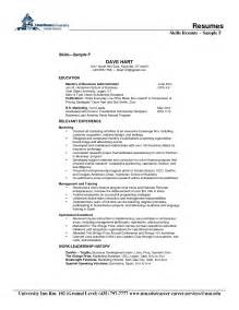 Skills For A Resume Sample Skills And Abilities List For Resume Free Resume Template