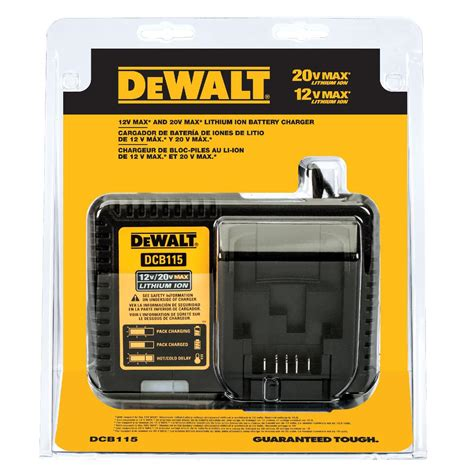dewalt charger repair dewalt dcb115 12v max 20v max lithium ion battery