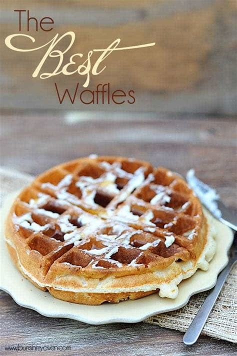 watering waffle iron recipes for more than just