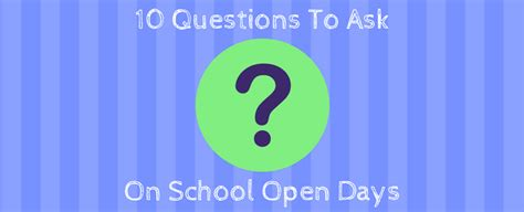 10 questions you need to ask at secondary grammar school