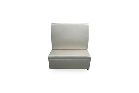 white banquette high back straight banquette white lux lounge efr 888 247 4411