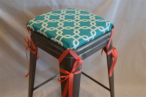 Bar Stool Seat Covers How To Sew Bar Stool Cushions The Furnitures