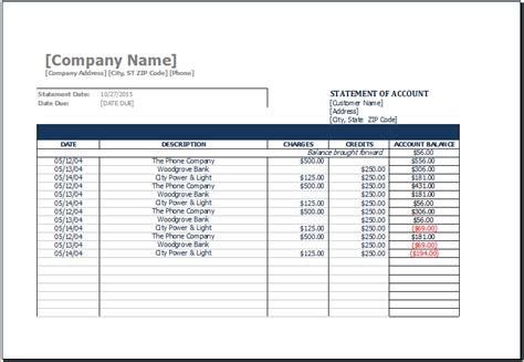 statement of account sle template statement of account template sle statement of account