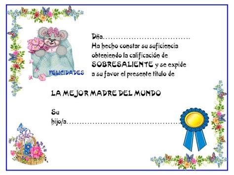 diplomas cristianos dia de la madre para imprimir diplomas para imprimir con personajes divertidos mil