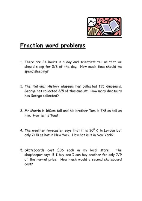 images  dividing fractions word problems
