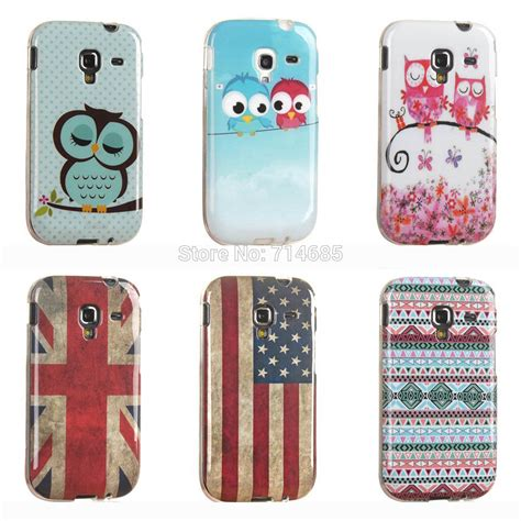 Backcover Backdoor Samsung Galaxy Ace 2 I8160 buy samsung galaxy ace 2 i8160 colorful butterfly flower soft tpu skin cover back dayday